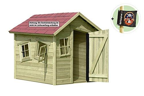 spielhaus marie fun aus holz gartenhaus f r kinder von gartenpirat outdoor freizeit und sport. Black Bedroom Furniture Sets. Home Design Ideas
