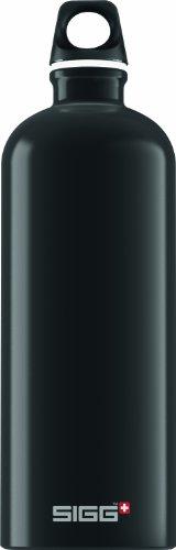 Sigg Trinkflasche Traveller, Schwarz, 1.0 Liter, 8327.40