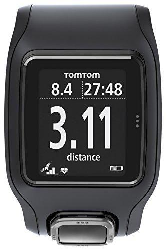 TomTom GPS Sportuhr Runner Cardio, Black, One size, 1RA0.001.02