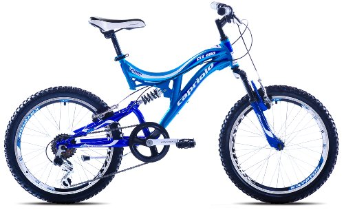 Capriolo Mountainbike 20 Zoll für Kinder /CTX200/, MTB, geeignet für 6 – 9 Jahre, Shimano 6 Gang, vollgefedert