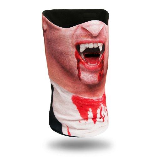 Vampir Skimaske Kälteschutz, Gesichtsschutz, Sturmmaske, Schlauchschal