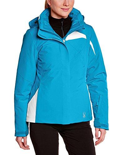 Spyder Damen Skijacke AMP Jacket Riviera blau weiß