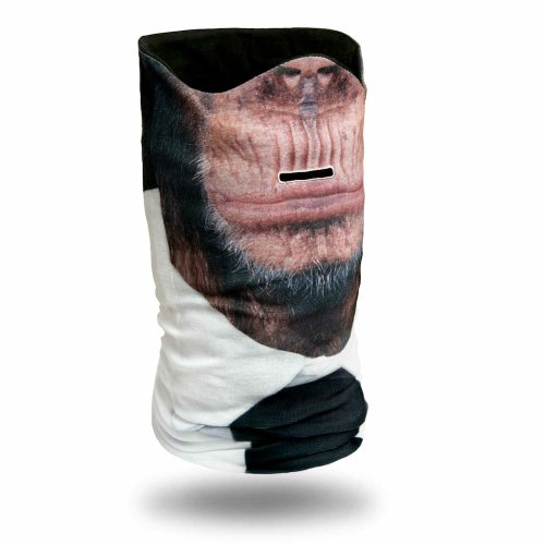 Schimpansen Schlauchschal Sturmmaske