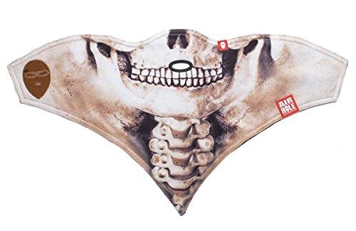Kinder Gesichtsmaske Bandana Skelett