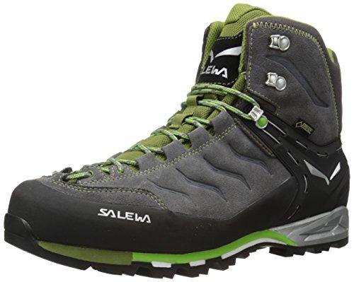 SALEWA Trekking- & Wanderstiefel MS MTN TRAINER MID GTX  Schwarz (4052 Pewter/Emerald)