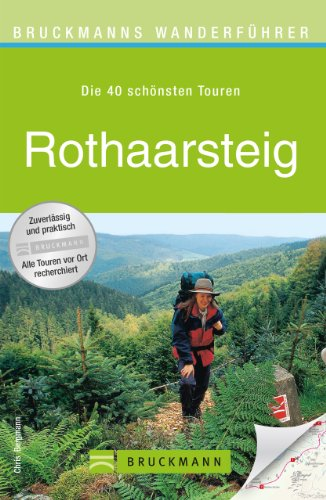 Wanderkarte Rothaarsteig Sauerland 40 Touren