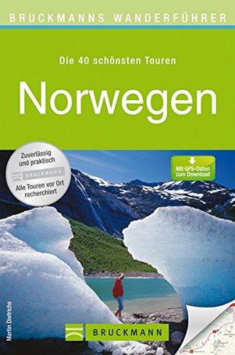 Wanderkarte Norwegen 40 Touren Wanderführer