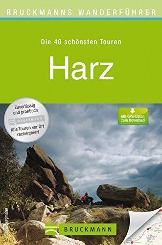 Wanderkarte Harz 40 Touren Wanderführer