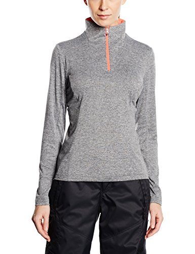 Spyder Damen Therma Stretch Shirt Skirolli grau pink