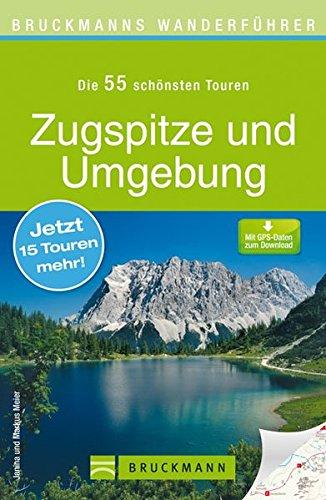 Wanderkarte Zugspitze und Umgebung 55 Touren Wanderführer