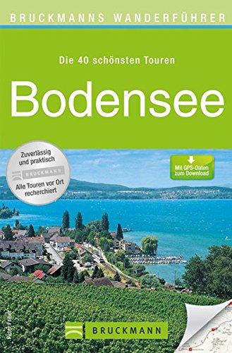 Wanderkarte Bodensee 40 Touren Wanderführer