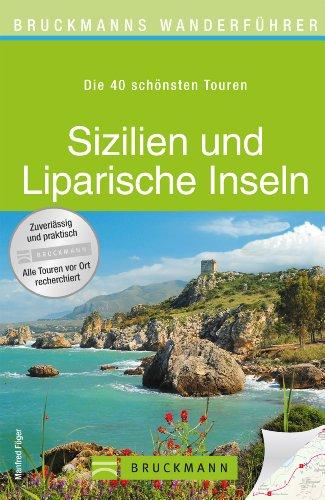 Wanderkarte Sizilien und Liparische Inseln 40 Touren Wanderführer