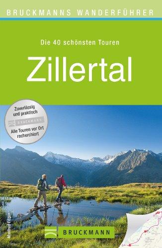 Wanderkarte Zillertal 40 Touren Wanderführer