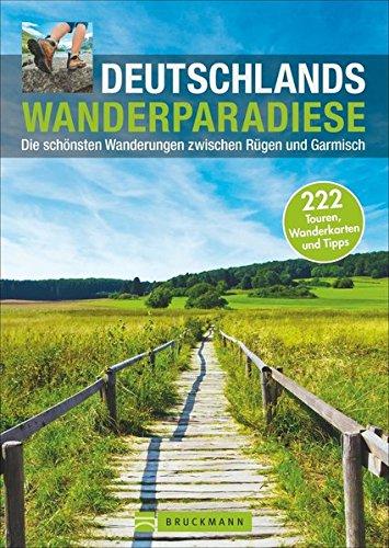 Wanderkarte Deutschland Wanderparadiese Wanderführer