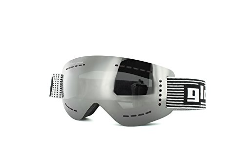 gloryfy Skibrille & Snowboardbrille unzerbrechlich GP3 transformer silber polarisiert unbreakable goggles
