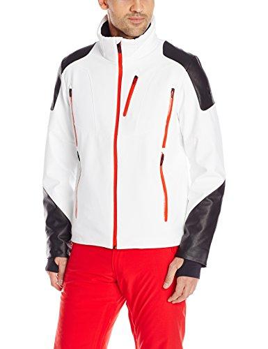 Spyder Herren 153038-100 Skijacke Heir Jacket weiß schwarz