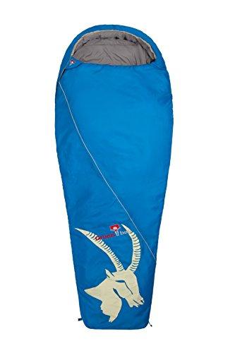 Grüezi Bag Erwachsene Mumienschlafsack Cloud Mumie Steinbock RV Links, Blau