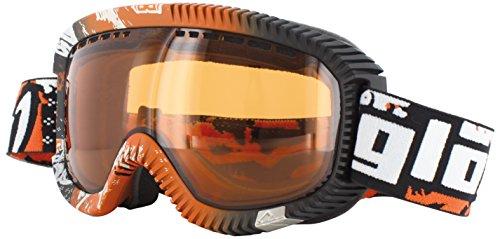Gloryfy Skibrille GP2 Brandy Snowboardbrille unzerbrechlich orange schwarz