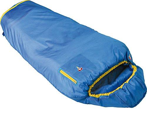 Grüezi Bag Kinder Mumien Schlafsack Mitwachsender Kinderschlafsack Kids Grow Colorful, Water
