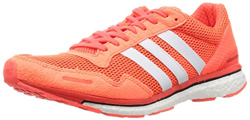 adidas Herren Adizero Adios 3 Laufschuhe Orange (Solar Red/Footwear White/Core Black)