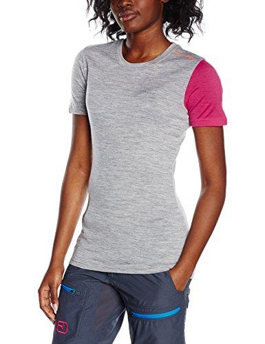 Ortovox Damen T-shirt Rock'n'Wool, Grey Blend
