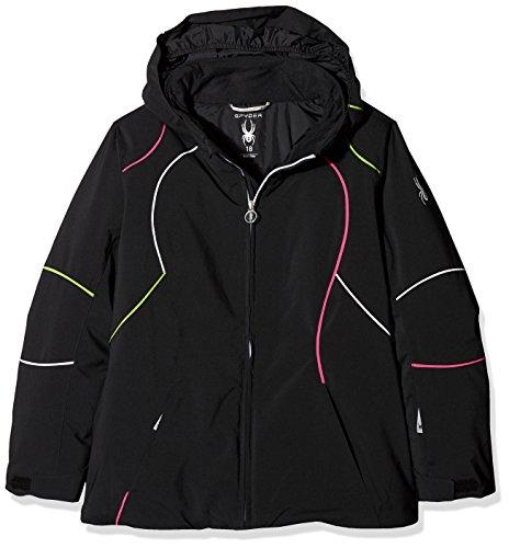 Spyder Mädchen Skijacke Girl'S Tresh Jacke schwarz