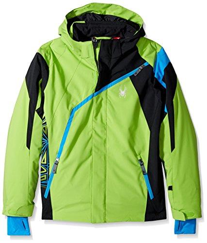 Spyder Kinder Skijacke Boy'S Challenger Jacke grün