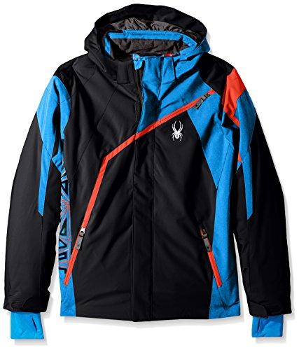 Spyder Skijacke Kinder Boy 's Challenger Jacke schwarz