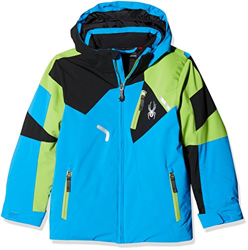 Spyder Kinder Skijacke Boy'S Leader Jacke blau